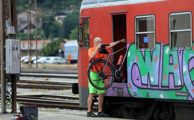 Kolesarski vlak na Koro�ko, 8.7.2017, Maribor [kolesarski vlak, koro�ka, maribor] Foto Tadej Regent/delo