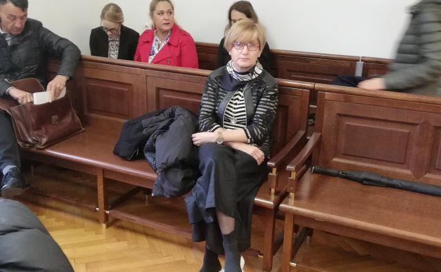 Jana Šturm, nekdanja sodelavka Urške Jurkovič v podjetju Emporio Medical. Očitajo ji dajanje podkupnin.
