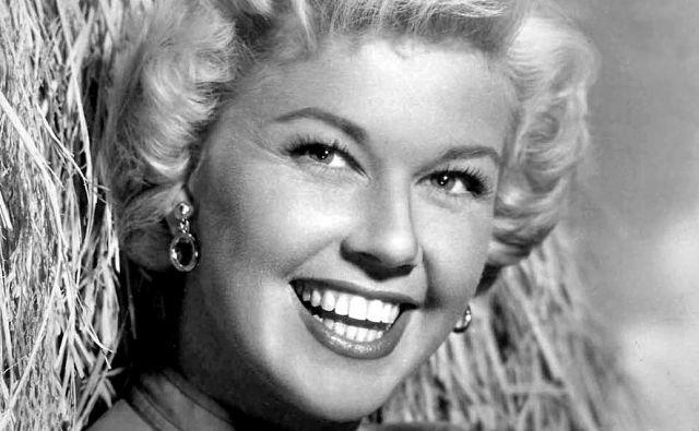 Doris Day je nastopila v 39 filmih in požela izjemen uspeh ne le kot igralka, temveč tudi kot pevka. FOTO: Wikipedia