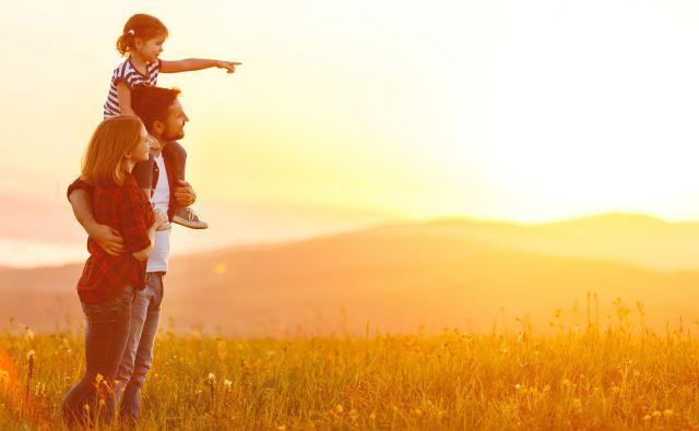 V Svetovni raziskavi vrednot, ki so jo leta 2011 izvedli v okviru raziskovanja Slovensko javno mnenje, je družino kot najpomembnejšo vrednoto v življenju prepoznalo 89 odstotkov polnoletnih prebivalcev Slovenije.Foto Shutterstock Delo