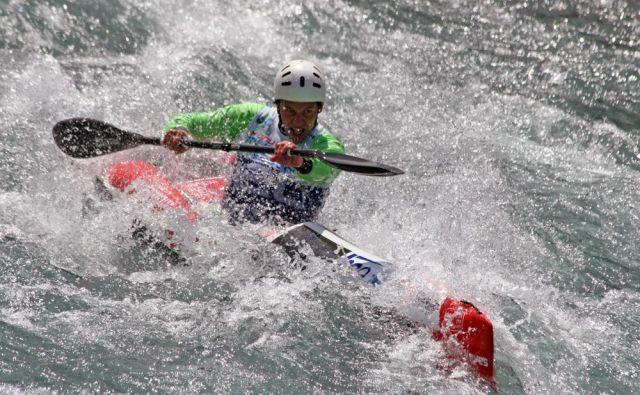 Simon Oven želi upravičiti naslov svetovnega prvaka. FOTO: KZS/Nina Jelenc