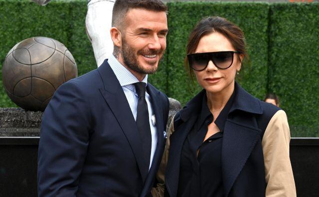 Zakonca Beckham sta se poročila leta 1999 in imata štiri otroke. FOTO: USA Today Sports/Reuters