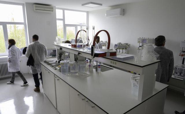 Labenin laboratorij BIA Separations C.R.O. omogoča hitre in inovativne laboratorijske rešitve na področju molekularne biologije in analitike. FOTO: Manca Mrzelj/Delo