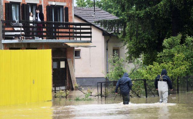 Poplave v Banjaluki in okolici. FOTO: Velibor Tripić