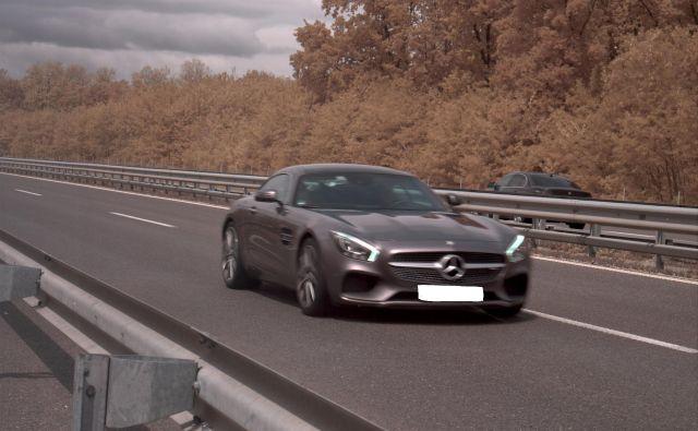 Prehitri voznik je omejitev hitrosti prekoračil za več kot sto kilometrov na uro. FOTO: PU Murska Sobota