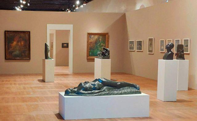 Razstava <em>Impresionizem od zore do mraka. Slovenska umetnost 1870–1930 </em>bo na Praškem gradu odprta do srede septembra. Foto Narodna galerija