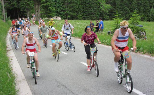Več kot 1000 jih bo naskakovalo kolesarski Triglav. FOTO: Blaž Račič