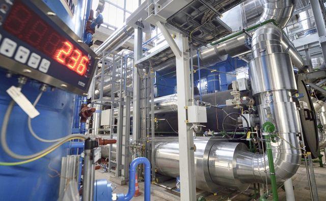 Največja toplotna črpalka v srednji Evropi je postavljena pri plinski termoelektrarni na Dunaju. FOTO: Johannes Zinner/Wien energie