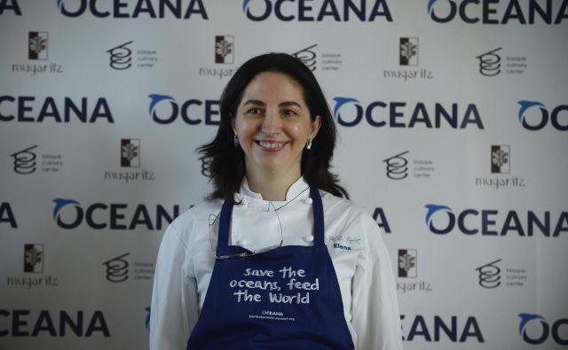 Chef Elena Arzak je v vodenje dobila izjemno inštitucijo in do danes ni izgubila nobene Michelinove zvezdice. Foto Reuters