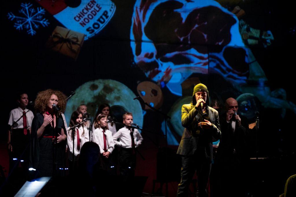 FOTO:Laibach v Cankarjevem domu