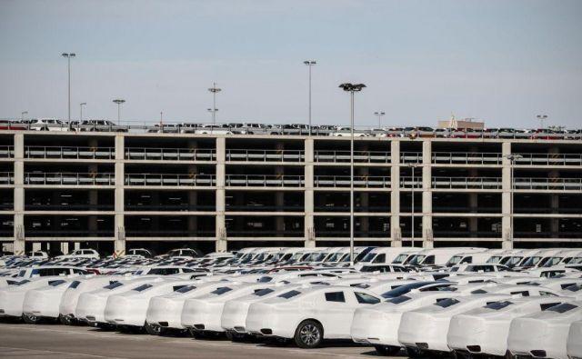 V prihodnjih letih bodo v Luki Koper povečali zmogljivosti za pretovor avtomobilov, v kar bodo vložili 40 milijonov evrov. FOTO: Uroš Hočevar/Delo