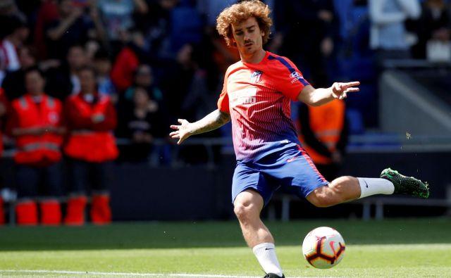 Antoine Griezmann ne bo več brcal za Atletico. FOTO: Reuters