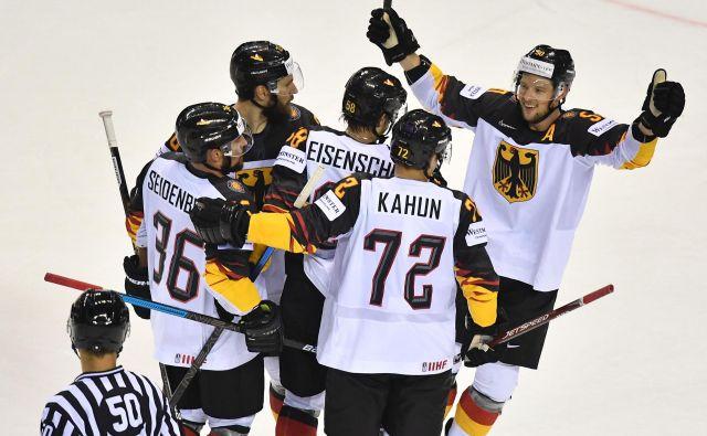 Nemci so vpisali še četrto zmago na SP. FOTO: AFP