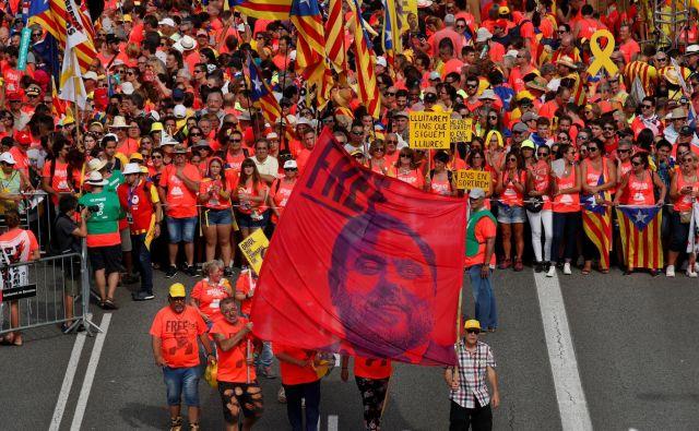 Republikanska levica Katalonije je edina stranka, ki od ustanovitve pred 88 leti zagovarja neodvisnost. Foto Reuters