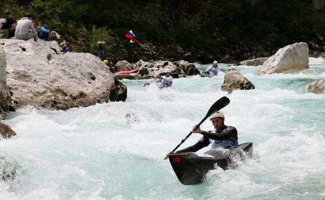 Slovensko moštvo kajakašev je upravičilo visoka pričakovanja na Soči. FOTO: Nina Jelenc/KZS