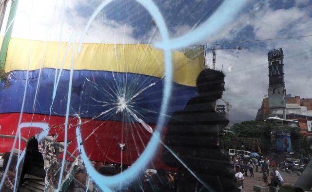 Sedemnajst oseb iz Venezuele je aprila zaprosilo Slovenijo za repatriacijo.Foto: Ivan Alvarado/Reuters
