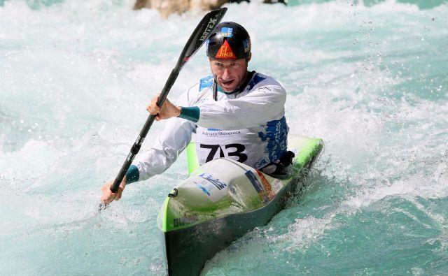 Nejc Žnidarčič je bil lani svetovni prvak v šprintu, kako bo na EP? Foto Nina Jelenc/kzs