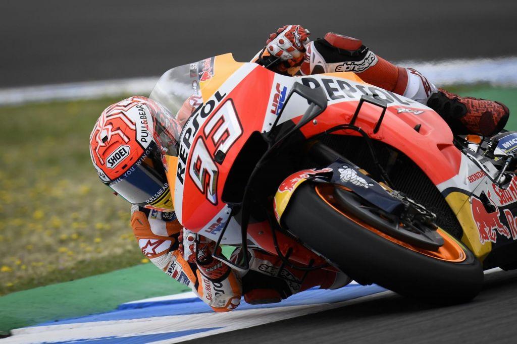 Med Marquezovimi občudovalci je tudi Rossi