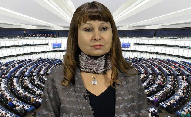 EU razgovor z Violeto Tomić Foto: Delo