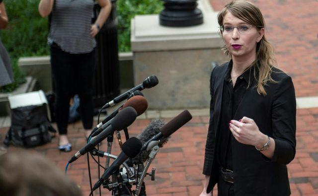 Chelsea Manning noče pričati. FOTO: AFP