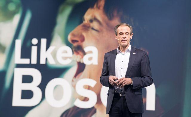 Direktor Boscha Volkmar Denner, 62-letni inženir in doktor fizike, je vso karierno pot prehodil pri tem podjetju. FOTO: Bosch