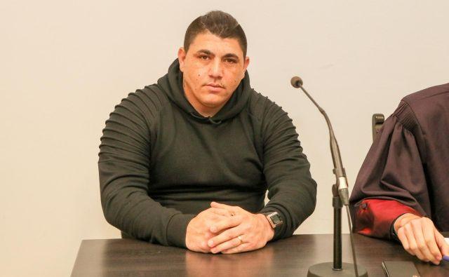 Sanelo Hudorovič se je lahko spet vrnil k svojim domačim. FOTO: Marko Feist