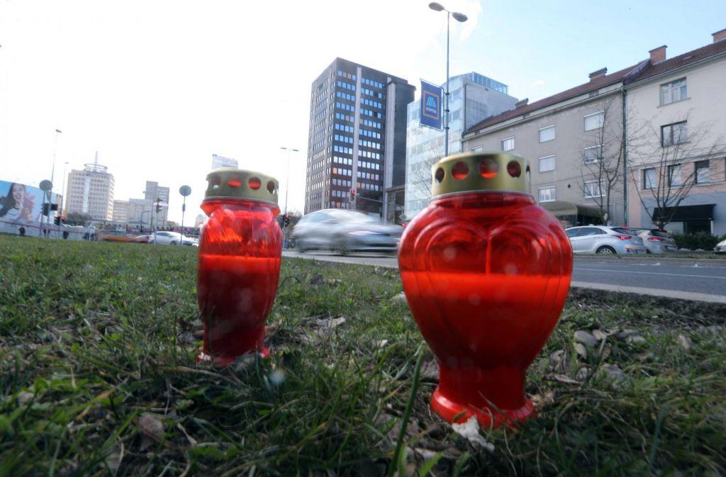 FOTO:Nesrečo na Dunajski povzročil neprišteven?