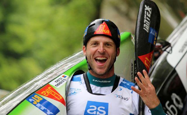 Nejc Žnidarčič je bil na Soči evropski prvak že pred šestimi leti. FOTO: Nina Jelenc/KZS