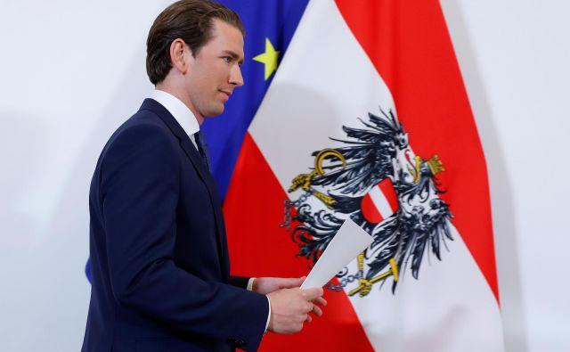 Avstrijski kancler Sebastian Kurz je napovedal predčasne volitve. FOTO: Leonhard Foeger Reuters