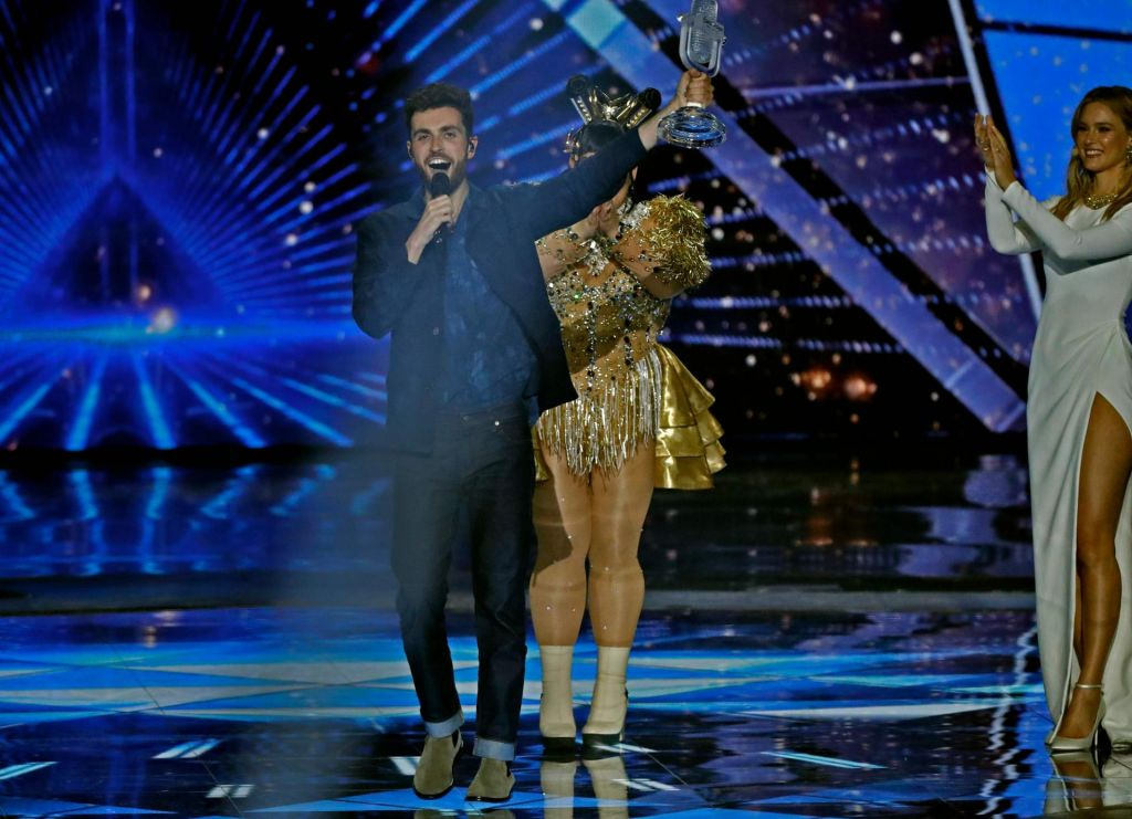 FOTO:Zmagovalka Evrovizije je Nizozemska. Slovenija odlična trinajsta