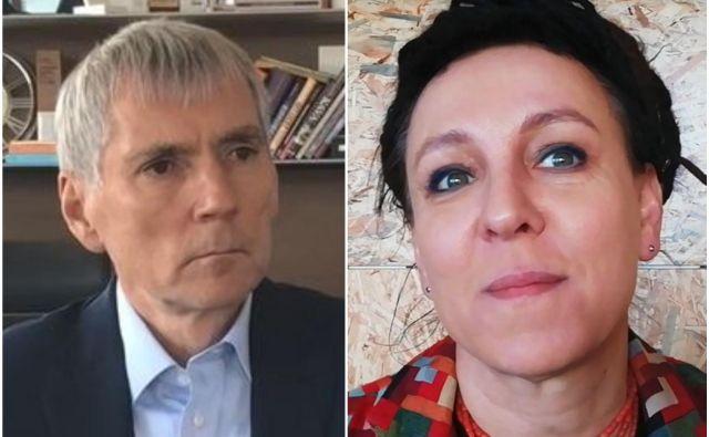 Tokrat sta na naša vprašanja odgovarjala Sandi Češko in Olga Tokarczuk. FOTO: Delo