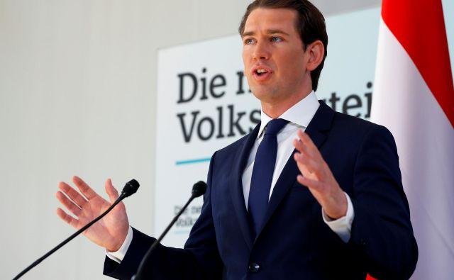 Tik pred evropskimi volitvami se je Avstrija znašla v politični krizi.FOTO: Leonhard Foeger/Reuters