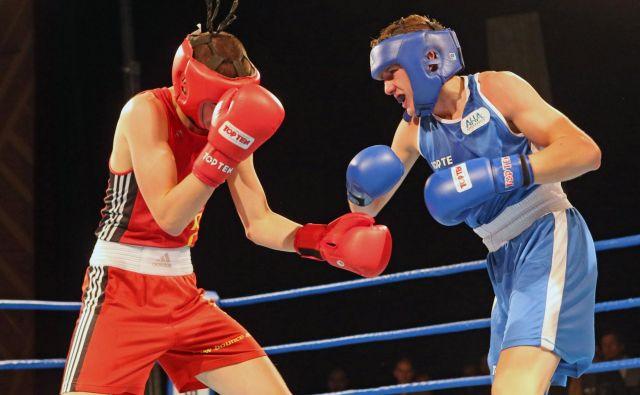 Amaterski boks je na olimpijskem razpotju.] FOTO: Tadej Regent