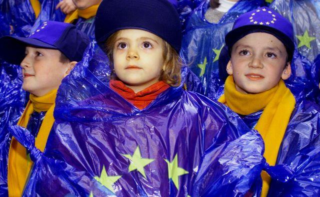 Kaj od Evropske unije pričakujejo otroci? FOTO: Reuters