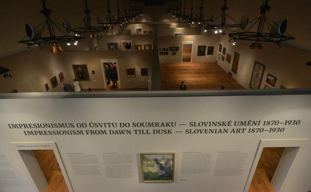 V Prago je šla največja pošiljka nacionalne dediščine v vsej zgodovini samostojne Slovenije. To nekaj pove. Foto Andrej Hirci/Narodna Galerija