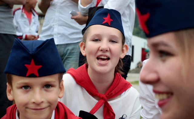 Proslava ob 70. obletnici bitke na Neretvi v bosanski Jablanici. Foto Voranc Vogel/delo