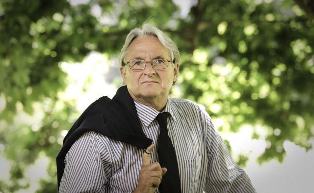 Iztok Simoniti, diplomat, publicist, strokovnjak za mednarodne odnose FOTO: Jo�že Suhadolnik/Delo