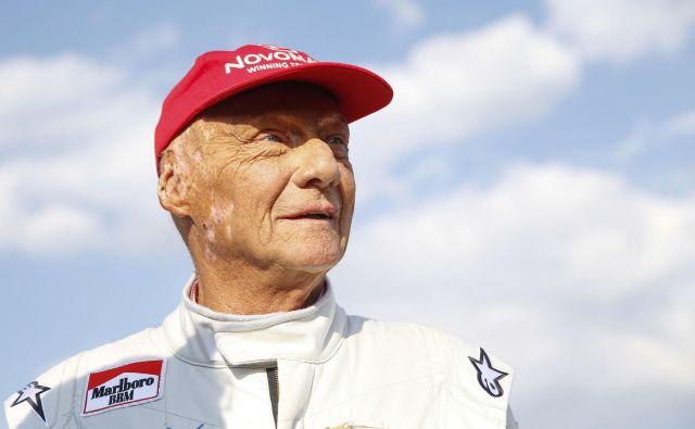Niki Lauda je imel veliko zdravstvenih težav, lani so mu na Dunaju presadili pljuča. FOTO: AFP