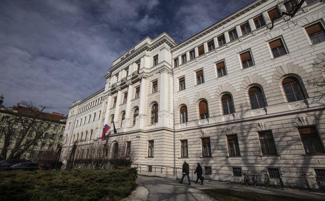 Ljubljansko okrožnosodišče je izdalo sklep o ustavitvi postopka. Foto Voranc Vogel