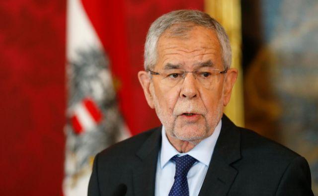 Pri predsedniku države Alexandru Van der Bellnu so si v zadnjih dnevih podajali kljuke vsi ključni avstrijski politiki.<br /> FOTO: Reuters