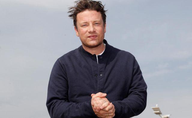 V izogib stečaju je Jamie Oliver že avgusta lani vložil v družbo 14 milijonov evrov. FOTO: Eric Gaillard/Reuters