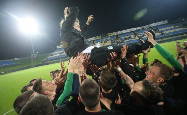 Safeta Hadžića imajo radi Olimpijini navijači in nogometaši. FOTO: Tadej Regent/Delo
