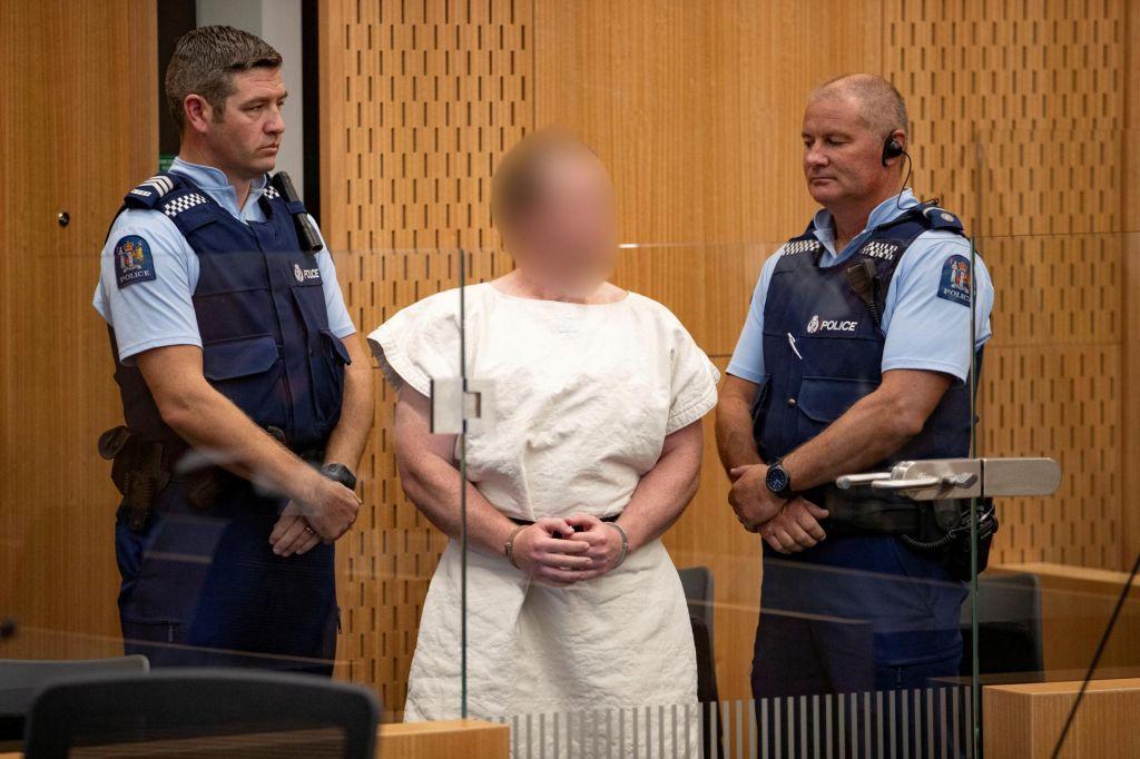 Napadalec izChristchurcha uradno obtožen terorizma