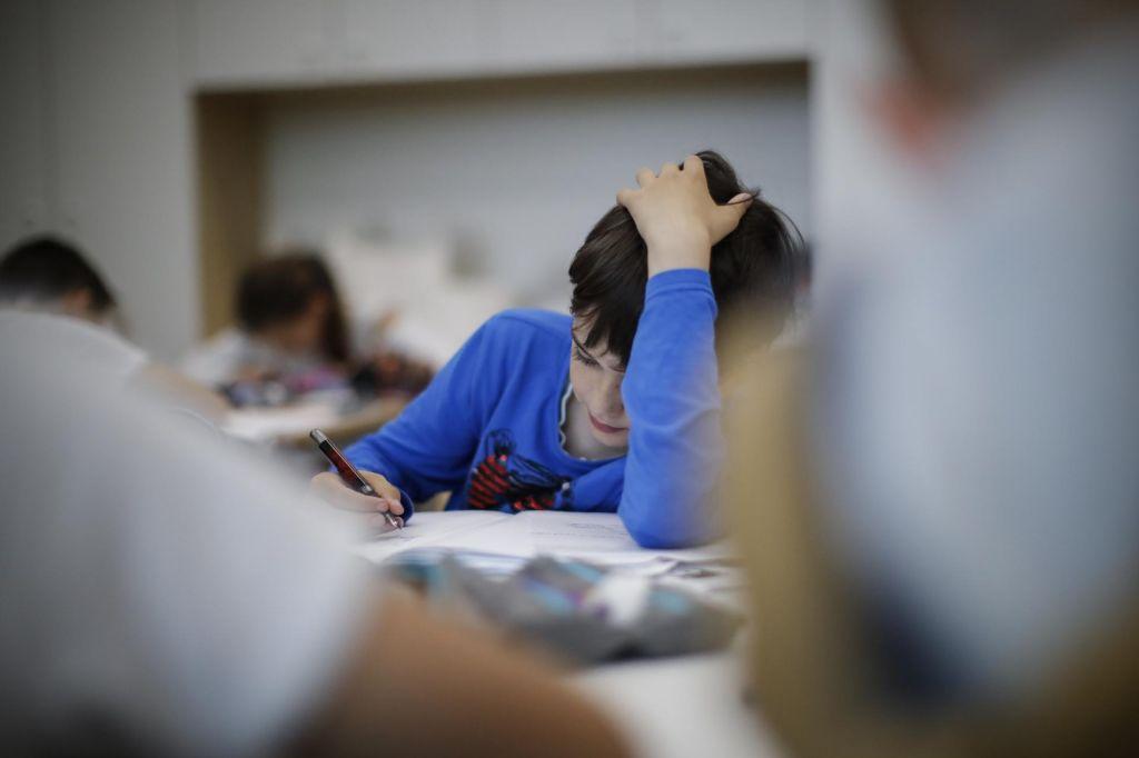 Osnovnošolci manj pod stresom, kot so pričakovali