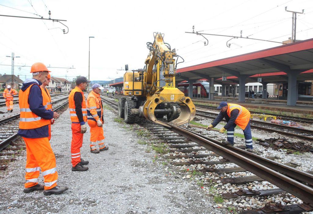 Črpanje evropskih sredstev na železniških projektih je ogroženo