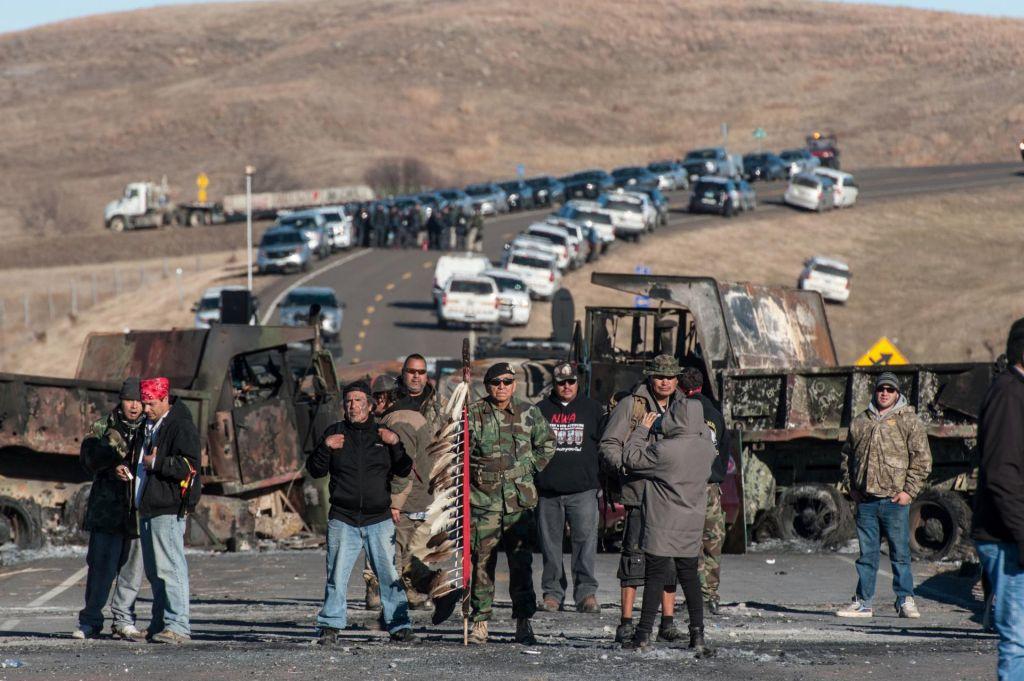 FOTO:Okoljski protest v ZDA postaja enak poskusu umora