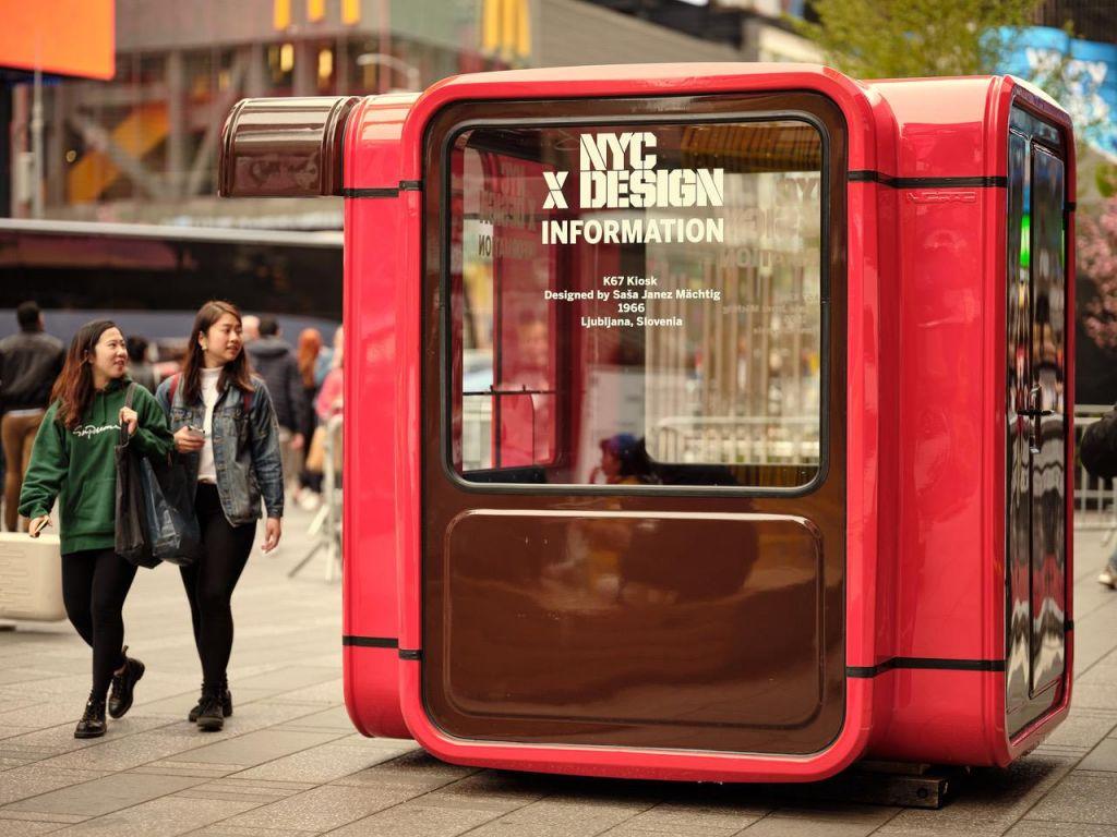 FOTO:Kultni slovenski kiosk sredi New Yorka