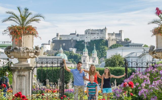 Baročni Salzburg spada v Unescovo kulturno dediščino. FOTO: ©Tourismus Salzburg