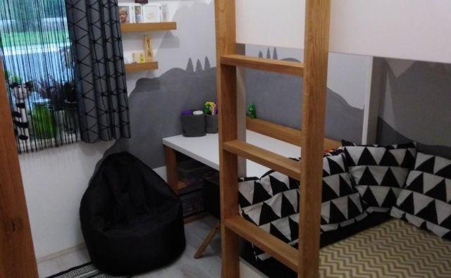 To je zmagovalna sobica nagradnega natečaja Najlepša otroška soba. FOTO: arhiv lastnika