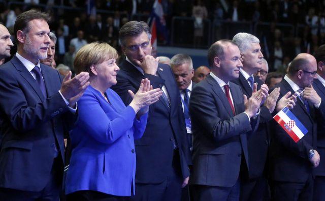 Nekateri analitiki vidijo Andreja Plenkovića, ki ima podobne poglede na EU kot Angela Merkel, kot enega izmed prihodnjih visokih bruseljskih funkcionarjev. Foto: Damjan Tadić/Cropix